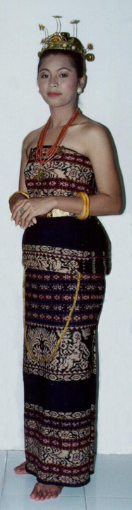 baju adat sabu