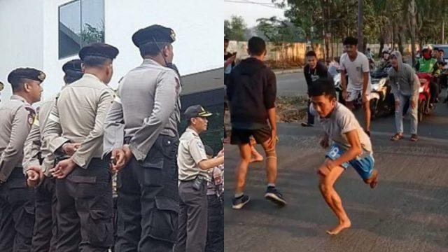 polisi-agresif-bubarkan-balap-lari-liar-di-berbagai-daerah