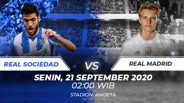 link-live-streaming-laliga-spanyol:-real-sociedad-vs-real-madrid
