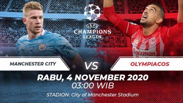 link-live-streaming-liga-champions:-manchester-city-vs-olympiakos