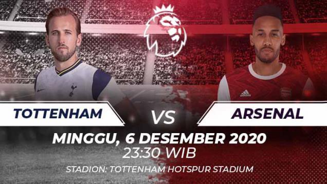 prediksi-pertandingan-liga-inggris-tottenham-hotspur-vs-arsenal:-tukar-nasib