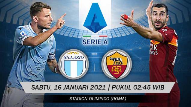 jadwal-serie-a-liga-italia-hari-ini:-ada-duel-seru-lazio-vs-as-roma