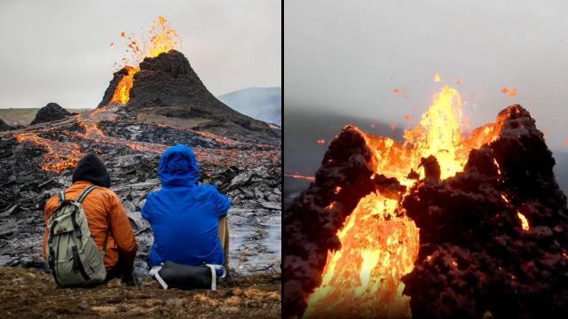 seperti-apa-rasanya-ada-di-kawah-gunung-api-saat-erupsi?-tonton-rekaman-drone-ini