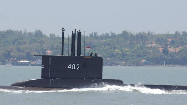 kapal-selam-tni-hilang,-diduga-ada-di-palung-700-meter-perairan-utara-bali