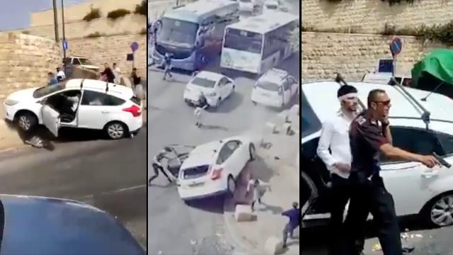 yerusalem-makin-panas,-warga-israel-kendarai-mobil-tabrak-demonstran-palestina
