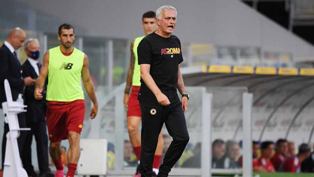 bawa-kemenangan-pertama-untuk-as-roma,-mourinho-pilih-membumi